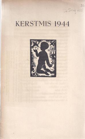 JACOB, B/ PS. VOOR J.J.M.BAYER/ SCHRIJVERSNAAM J.BENOIT - Kerstmis 1944