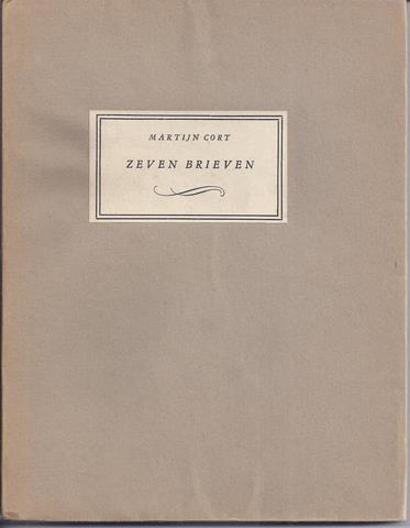 WOUDE, JOHAN V.D./ ONDER PS. MARTIJN CORT - Zeven Brieven