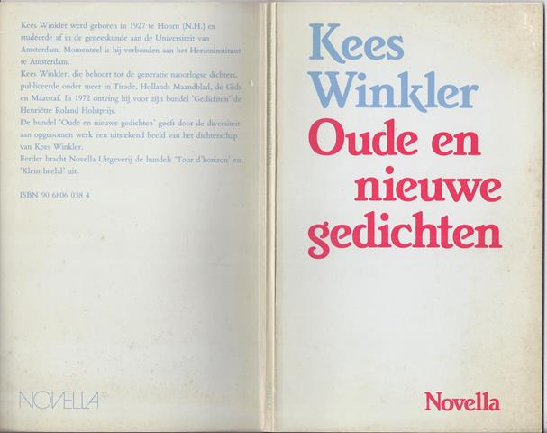 WINKLER, KEES (1927-2004) - Oude En Nieuwe Gedichten