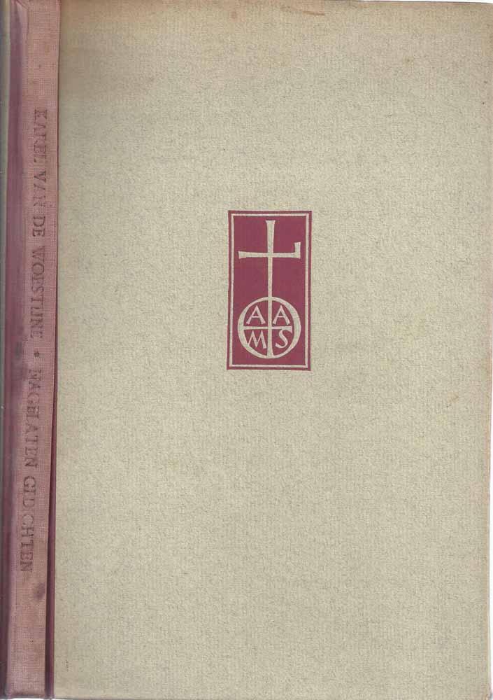 WOESTIJNE, KAREL VAN DE (1878-1929) - Nagelaten Gedichten