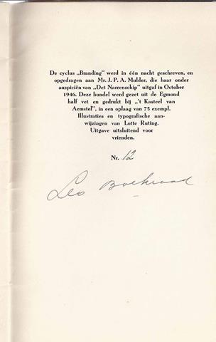 YEATS, WILLIAM BUTLER; VERT. A.ROLAND HOLST - De Gravin Catelene