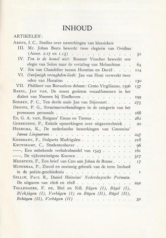 KRUYSKAMP, DR.C., E.A. RED. - Tijdschrift Voor Nederlandse Taal- En Letterkunde; Deel LXXVIII (78) Compleet