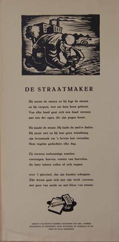 KUIPERS, REINOLD - De Straatmaker