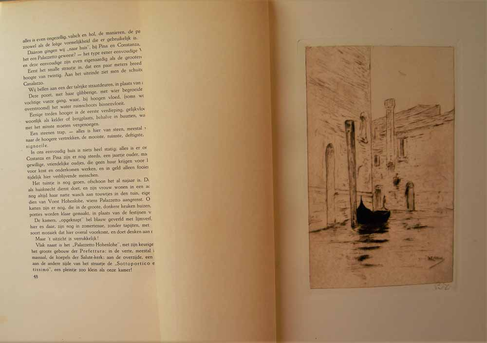 ZILCKEN, PH. - Reisindrukken in Provence - Venetiaansch Leven - in En Om Caïro