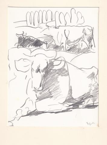 KONIJNENBURG, WILLEM VAN (1868-1943) - Koeien in Landschap