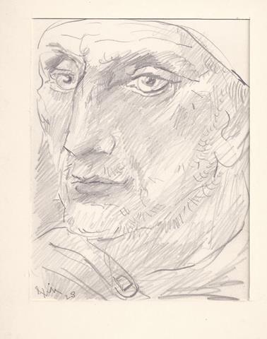 KONIJNENBURG, WILLEM VAN (1868-1943) - Portret Van Man