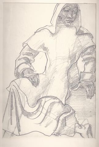 KONIJNENBURG, WILLEM VAN (1868-1943) - Vrouw in Klassieke Kledij