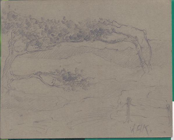 KONIJNENBURG, WILLEM VAN (1868-1943) - Bomen in de Duinen