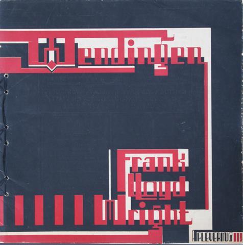 WRIGHT, FRANK LLOYD; WIJDEVELD, H.TH. E.A. RED. - Wendingen 1925 - VII - 5 - Frank Lloyd Wright III