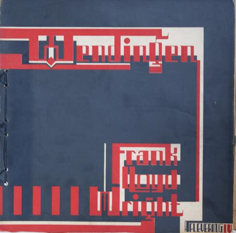 WRIGHT, FRANK LLOYD; WIJDEVELD, H.TH. E.A. RED. - Wendingen 1926 - VII - 6 - Frank Lloyd Wright IV