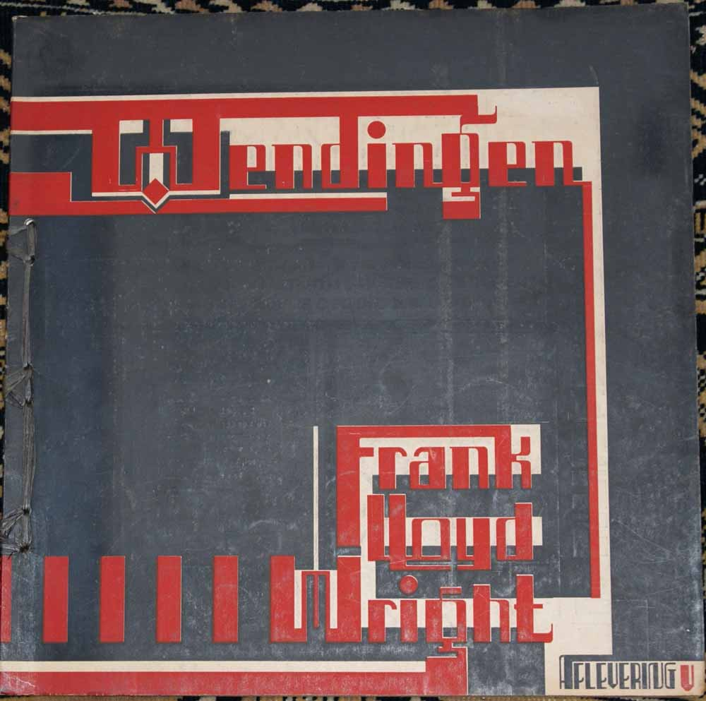 WRIGHT, FRANK LLOYD; WIJDEVELD, H.TH. E.A. RED. - Wendingen 1926 - VII - 7 - Frank Lloyd Wright V