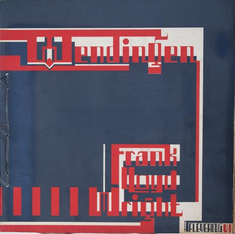 WRIGHT, FRANK LLOYD; WIJDEVELD, H.TH. E.A. RED. - Wendingen 1926 - VII - 8 - Frank Lloyd Wright VI